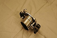 Toyota MR2 Throttle Body AFTER Chrome-Like Metal Polishing and Buffing Services