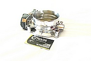 2010 Chevrolet Corvette ZR-1 Aluminum Throttle Body AFTER Chrome-Like Metal Polishing and Buffing Services