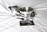 2009 Pontiac G8 GT Aluminum Throttle Body AFTER Chrome-Like Metal Polishing and Buffing Services