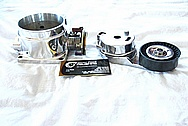 Dodge Hemi 6.1L Engine Aluminum Throttle Body AFTER Chrome-Like Metal Polishing and Buffing Services