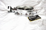 Dodge Viper V10 Engine Aluminum Throttle Body AFTER Chrome-Like Metal Polishing and Buffing Services