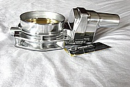 2012 Chevy LS3 Aluminum Throttle Body AFTER Chrome-Like Metal Polishing and Buffing Services