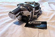 2010 Chevy Camaro Aluminum V8 Throttle Body AFTER Chrome-Like Metal Polishing and Buffing Services