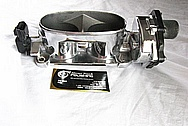 2007 Ford Mustang Aluminum Throttle Body AFTER Chrome-Like Metal Polishing and Buffing Services