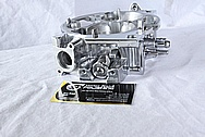 Aluminum Fuel Injection Throttle Body AFTER Chrome-Like Metal Polishing and Buffing Services / Restoration Services