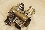 Toyota Supra 2JZ-GTE Throttle Body AFTER Chrome-Like Metal Polishing and Buffing Services
