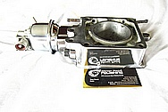 Saleen Mustang Aluminum Throttle Body AFTER Chrome-Like Metal Polishing and Buffing Services / Restoration Services