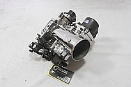 Toyota Supra 2JZ-GTE Aluminum Throttle Body AFTER Chrome-Like Metal Polishing and Buffing Services / Restoration Services