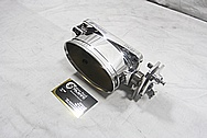 Dragon Oval Aluminum Throttle Body AFTER Chrome-Like Metal Polishing and Buffing Services / Restoration Services