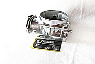 Hogans Intake Aluminum Throttle Body AFTER Chrome-Like Metal Polishing and Buffing Services / Restoration Services