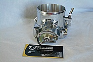 Aluminum Throttle Body AFTER Chrome-Like Metal Polishing and Buffing Services / Restoration Services