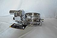 Aluminum Throttle Body AFTER Chrome-Like Metal Polishing - Aluminum Polishing