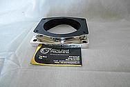 Aluminum Throttle Body Adapter AFTER Chrome-Like Metal Polishing - Aluminum Polishing
