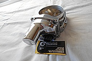 LS3 Aluminum Throttle Body for 1957 Chevy Cameo Truck AFTER Chrome-Like Metal Polishing - Aluminum Polishing
