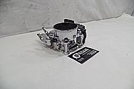 Mitsubishi Lancer EVO X Aluminum Throttle Body AFTER Chrome-Like Metal Polishing - Aluminum Polishing Service