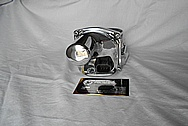 Chevy LS3 Throttle Body AFTER Chrome-Like Metal Polishing - Aluminum Polishing