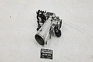 Toyota Supra 2JZ-GTE Aluminum Throttle Body AFTER Chrome-Like Metal Polishing - Aluminum Polishing Services