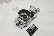 2007 Chevy Corvette LS2 Aluminum Throttle Body AFTER Chrome-Like Metal Polishing - Aluminum Polishing Services