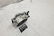 2003 - 2006 Dodge Viper Aluminum Throttle Body AFTER Chrome-Like Metal Polishing - Aluminum Polishing Services