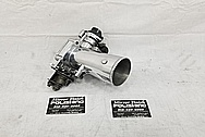 1993 - 1998 Toyota Supra Aluminum Throttle Body AFTER Chrome-Like Metal Polishing - Aluminum Polishing Services