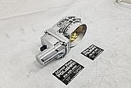 GM LS Aluminum Throttle Body AFTER Chrome-Like Metal Polishing - Aluminum Polishing Services