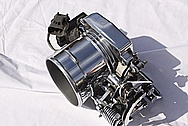 Ford Mustang V8 Aluminum Throttle Body AFTER Chrome-Like Metal Polishing and Buffing Services