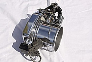 Ford Mustang Cobra Aluminum Throttle Body AFTER Chrome-Like Metal Polishing and Buffing Services