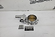 GM LS3 Throttle Body AFTER Chrome-Like Metal Polishing and Buffing Services - Aluminum Polishing - Throttle Body Polishing