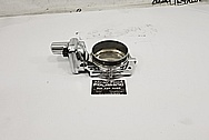 Aluminum Throttle Body AFTER Chrome-Like Metal Polishing - Aluminum Polishing - Throttle Body Polishing