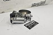 Toyota Supra Aluminum Throttle Body AFTER Chrome-Like Metal Polishing - Aluminum Polishing - Throttle Body Polishing