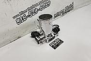 Toyota Supra 2JZ-GTE Aluminum Throttle Body AFTER Chrome-Like Metal Polishing - Aluminum Polishing - Throttle Body Polishing