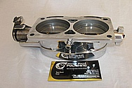 Ford Mustang V8 Throttle Body AFTER Chrome-Like Metal Polishing and Buffing Services