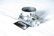 Q45 Aluminum Throttle Body AFTER Chrome-Like Metal Polishing and Buffing Services
