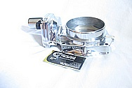 Ford Mustang Aluminum Throttle Body AFTER Chrome-Like Metal Polishing and Buffing Services
