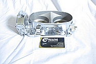 2007 Shelby GT500 Aluminum Throttle Body AFTER Chrome-Like Metal Polishing and Buffing Services