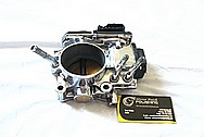 2007 Honda Civic SI Aluminum Throttle Body AFTER Chrome-Like Metal Polishing and Buffing Services