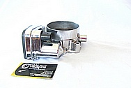 Dodge Hemi 6.1L Aluminum Throttle Body AFTER Chrome-Like Metal Polishing and Buffing Services