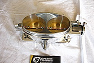 Dodge Viper Aluminum Throttle Body AFTER Chrome-Like Metal Polishing and Buffing Services