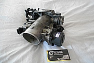Toyota Supra Aluminum Throttle Body BEFORE Chrome-Like Metal Polishing and Buffing Services / Restoration Services