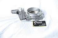 Ford Mustang Aluminum Throttle Body BEFORE Chrome-Like Metal Polishing and Buffing Services