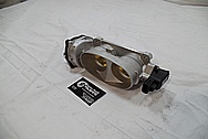 Ford Mustang Roush Edition Throttle Body BEFORE Chrome-Like Metal Polishing and Buffing Services / Restoration Services