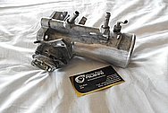 Toyota Supra 2JZ-GTE Aluminum Throttle Body BEFORE Chrome-Like Metal Polishing and Buffing Services / Restoration Services