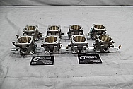 Aluminum Throttle Bodies BEFORE Chrome-Like Metal Polishing - Aluminum Polishing