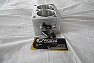 Aluminum Throttle Body BEFORE Chrome-Like Metal Polishing - Aluminum Polishing