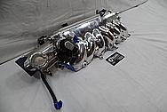 Aluminum Toyota Supra Throttle Body BEFORE Chrome-Like Metal Polishing - Aluminum Polishing