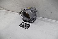 2012 Honda Civic SI Aluminum Throttle Body BEFORE Chrome-Like Metal Polishing - Aluminum Polishing