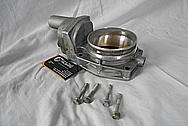 Chevy LS3 Throttle Body BEFORE Chrome-Like Metal Polishing - Aluminum Polishing