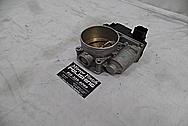 Nissan 350Z Aluminum Throttle Body BEFORE Chrome-Like Metal Polishing - Aluminum Polishing Services