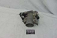 Toyota Supra 2JZ-GTE Aluminum Throttle Body BEFORE Chrome-Like Metal Polishing - Aluminum Polishing Services