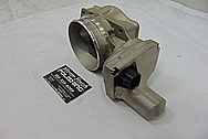 2007 Chevy Corvette LS2 Aluminum Throttle Body BEFORE Chrome-Like Metal Polishing - Aluminum Polishing Services
